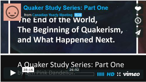 End of the World, Beginning of Quakerism, and What Happened Next Video 1