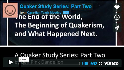 End of the World, Beginning of Quakerism, and What Happened Next Video 2