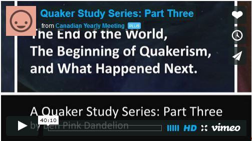 End of the World, Beginning of Quakerism, and What Happened Next Video 3