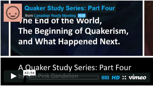 End of the World, Beginning of Quakerism, and What Happened Next Video 4